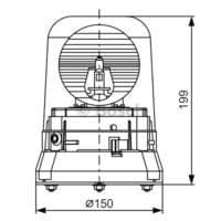 Bosch Rundumkennleuchte