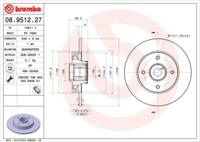 Brembo BEARING DISC LINE Bremsscheibe
