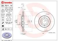 Brembo COATED DISC LINE Bremsscheibe