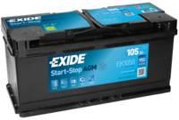 Exide Start-Stop AGM Batterie