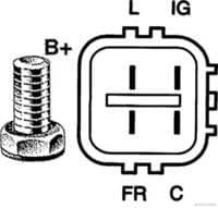 Herth+Buss Jakoparts Lichtmaschine / Generator