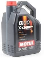 Motul 8100 X-CLEAN+ 5W30 Motoröl