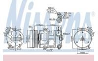 Nissens Klimakompressor