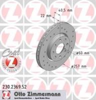 Zimmermann SPORT COAT Z Bremsscheibe
