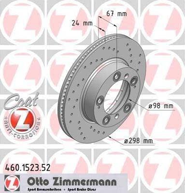Bremsscheibe 17074 A.B.S